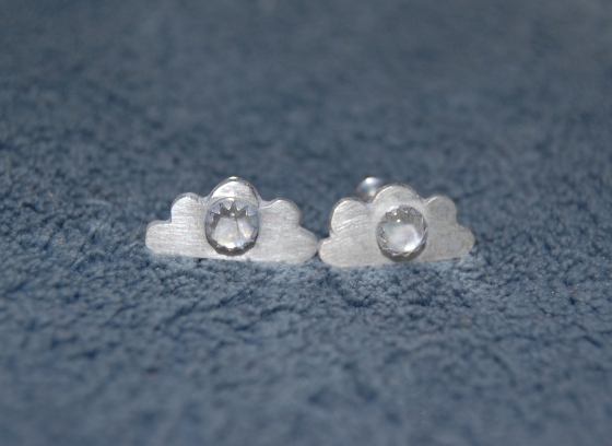 Dream Cloud Stud Earrings - very nice on blue DSC_0001