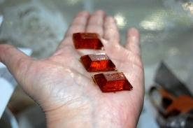 CBD rectangular candies in hand DSC_0011