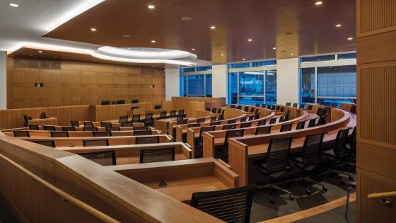 FordhamLawSchool - Courtrooml