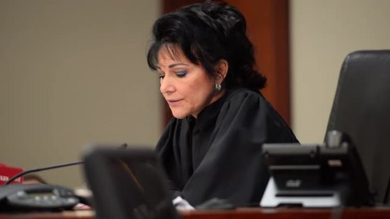 Judge Aquilina in court
