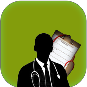 Doctor Holding Medical Record In Hand
